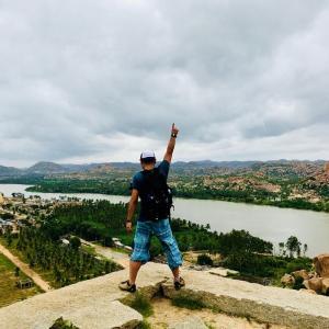 インド -旅人が絶賛する「ハンピ」という街ー