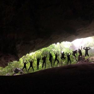 ベトナム ‐Day2‐② Wild Tu Lan Cave Explorer -