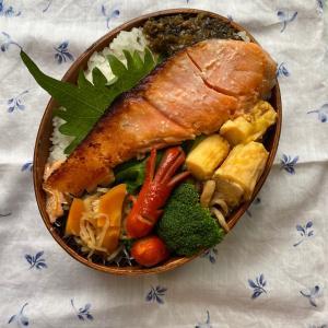 鮭の塩麹焼き弁当
