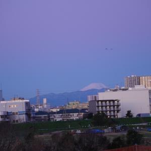 おはよう、富士山♪