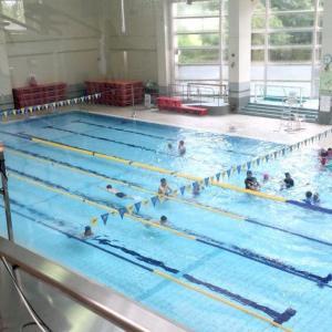水泳を始めてから丸3年。水泳は寒い季節の運動のために始めたのです。