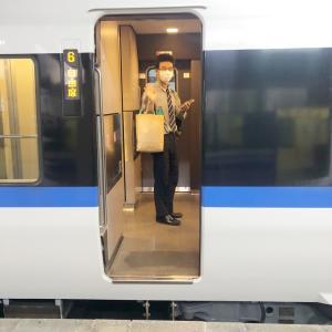 長男、就職試験のため、京都へ前乗りです。