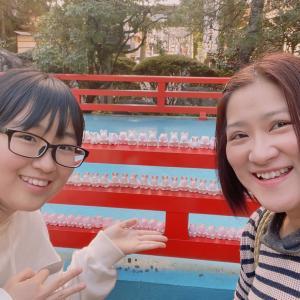 京都のうさぎ神社、「岡崎神社」へお参りしてきました。