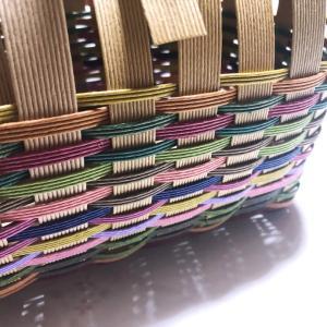 端くれバッグ、大中小。また編み始めました。Creema出品します。
