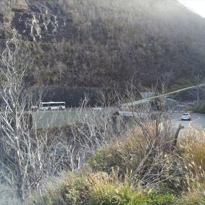 大涌谷周辺(県道734号)と仙石原へサイクリング