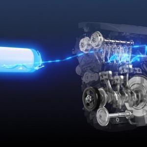 未来へ水素内燃機技術 っ♪