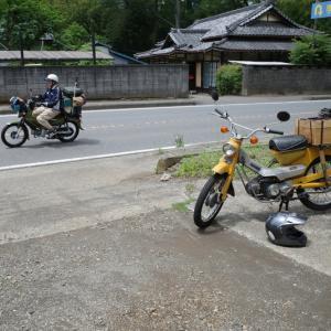 バイク街道での出来事