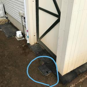 新DIY·····散水栓移設、立水栓増設