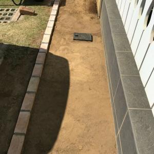 自転車屋アプローチ2-10···造形切土・入口篇