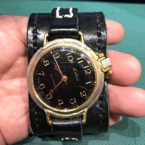 腕時計のメンテ準備