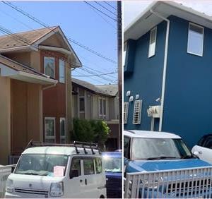 こだわりこそが大切!青い家☆☆☆