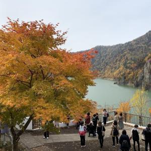 豊平峡ダム・紅葉