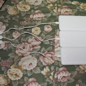 大型台風のためモバイルバッテリーを買って準備!