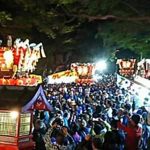 大阪府下最大級の秋祭り〜枚岡秋郷祭〜。
