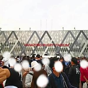 RWC「日本対南アフリカ」PV in 花園ラグビー場。