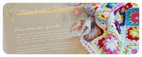 図書館で借りた本5『ナチュラル素材で編むかぎ針編みのバッグ&ポーチ』。