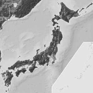 日本列島のカタチって