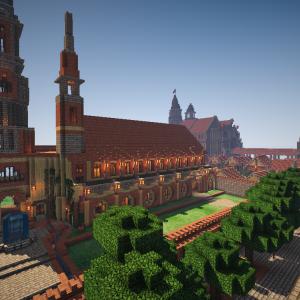 【Minecraft】一応振り返ろう。中世都市。