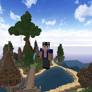 【Minecraft】ゼロから始める街づくり「山脈」