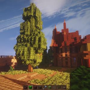 【Minecraft】最近の住宅地の開発と今後のおしらせ。