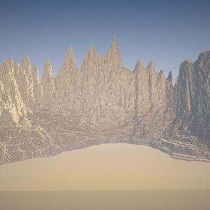 【Minecraft】クリスマス建築するぜ! ~part1地形作り~