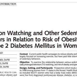 生活習慣と肥満・糖尿病発症について