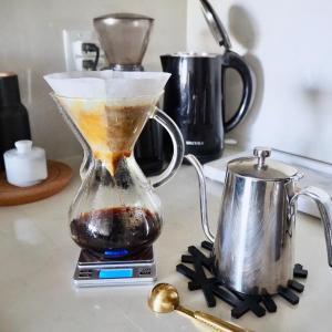 おうち時間が長い今 刺激を受けたコーヒー動画。ケメックスのフィルターセットの仕方合ってる?