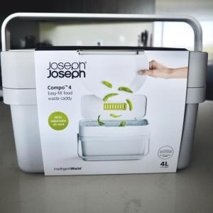 キッチンに出しっ放しでも良いコンパクトな生ゴミ用のゴミ箱を買う。さて使い勝手は?