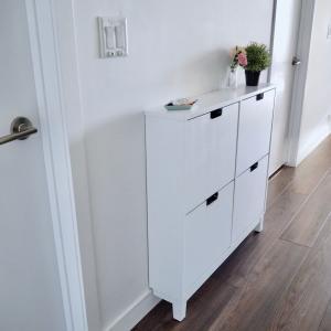 狭いし収納ない玄関の悩みその③【幅17cm IKEA家具で4つのプチストレスが解決】