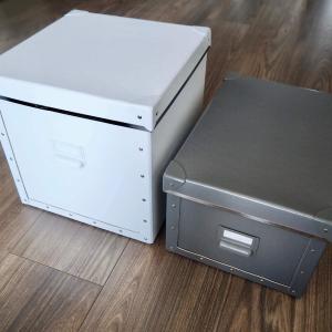 IKEAのペーパー収納ボックスを使い始めて5年。良し悪しは?リピート買いしたモノ。