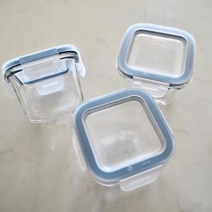 3個で499円!絶対便利な180mlミニサイズ。IKEA365+ 耐熱ガラス保存容器がオススメ