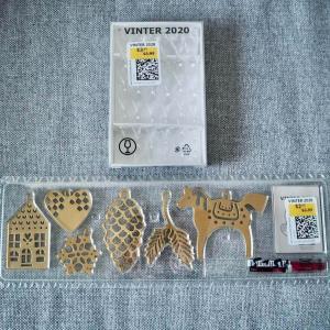 IKEAの「VINTER 2020」クリスマス雑貨が半額以下で買えた〜。