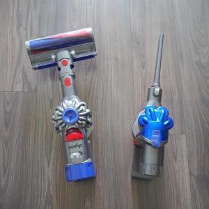 掃除機2台持ち わが家の使い方。ダイソンお手入れ 水洗いで気をつけるポイント。