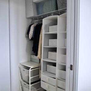 IKEAで絶対買いの119円おしゃれボックス&私 娘 服見直しでクローゼットを整える