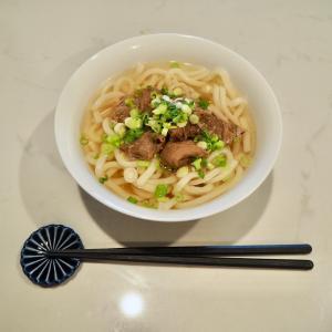 体調が良くない週末のおうちランチは麺類と電子レンジで超簡単に。