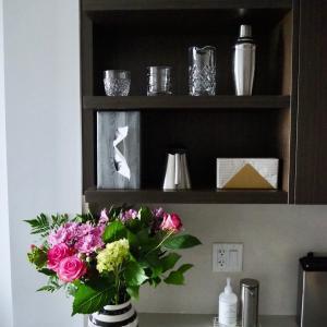 コストコで母の日に飛ぶように売れてた花束を飾ってみた。