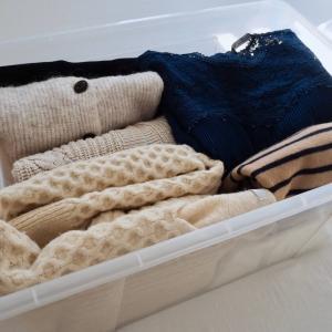 衣替えをラクにするコツは一気にしない 日頃から服を見直すクセも大事。