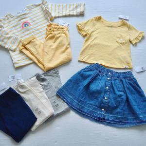 【GAP H&M】やっぱ可愛い!夏セールで買ったプチプラ キッズ服7点