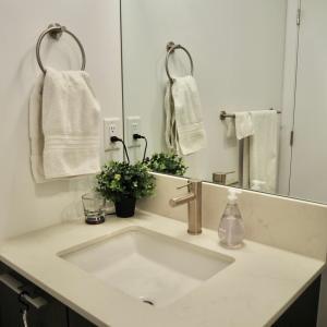 話題の100均グッズで解決!狭い洗面所のスポンジ置き場。