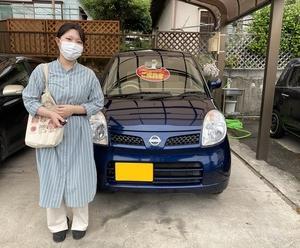 初めての愛車!日産モコ納車です!