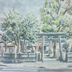 兵庫  柳原天神社