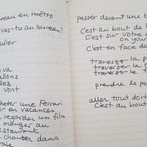 フランス語 はじめました その2