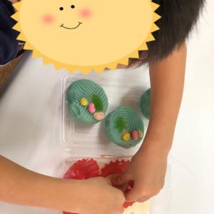 夏祭りで和菓子作りにも挑戦!