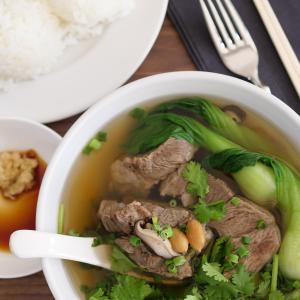 【レシピ動画】ハワイスタイルのオックステールスープ