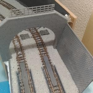 左側カーブ:トンネル製作 その2