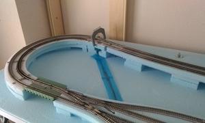 左側カーブ:トンネル製作開始