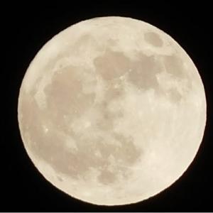 とびきり明るい満月