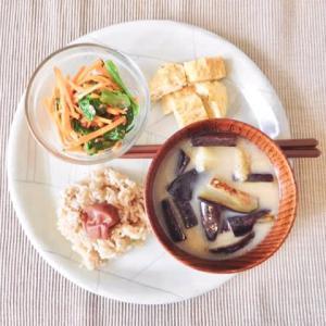 日本食の代表part.3 梅干しと味噌汁