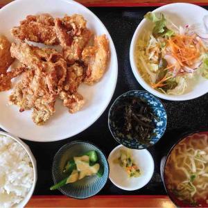 めし屋ひろしの鶏唐揚げ定食