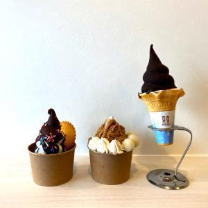 ソフトクリームの種類が30種類で多くて悩む~♪『baby 8738(ベイビーハナビ)甲子園店』